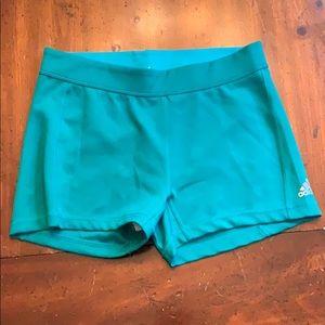 Adidas climalite spandex shorts. Size M
